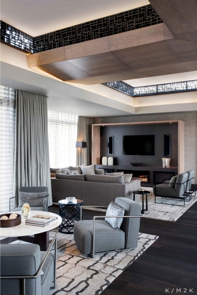 Luxury Penthouse Apartment On The Top Floor Of A Hotel In