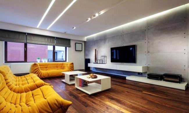 Modern Apartment With Minimalist Interior Design In