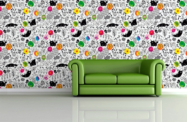 Original Pattern Wallpaper And Wall Stickers Decorate Any