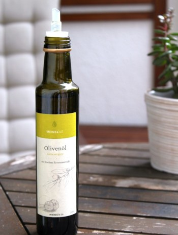 Zitronen-Olivenöl Ofen offen Foodblog mhhh!