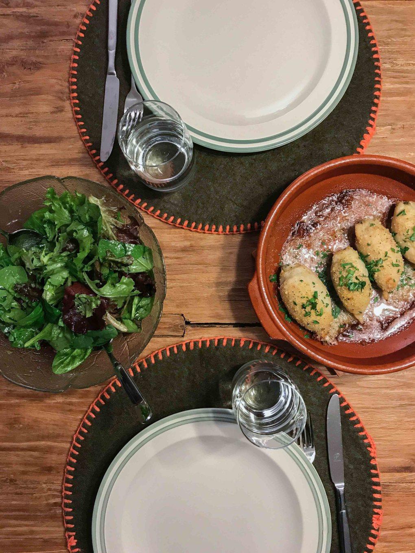 Tintenfisch Tintenfischtuben grillen Ofen Backofen gefüllt Rezept