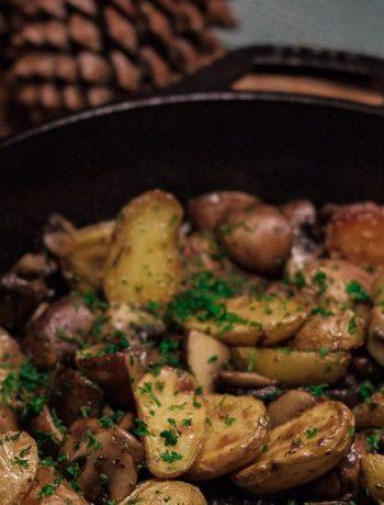 Ofenkartoffeln Ofen offen Foodblog mhhh!