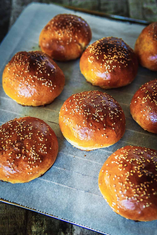 Rezept fluffige softe Burger Buns Grillen Burger BBQ Ofen offen Foodblog