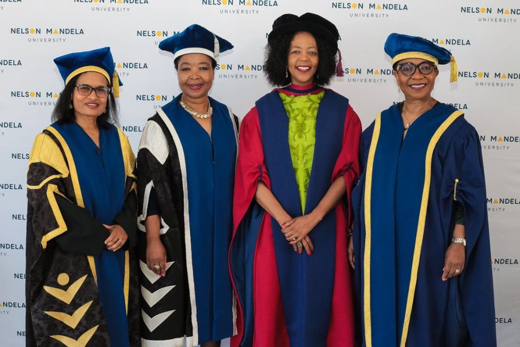 Dr Judy-Dlamini Honorary-Doctorate Ceremony 2018