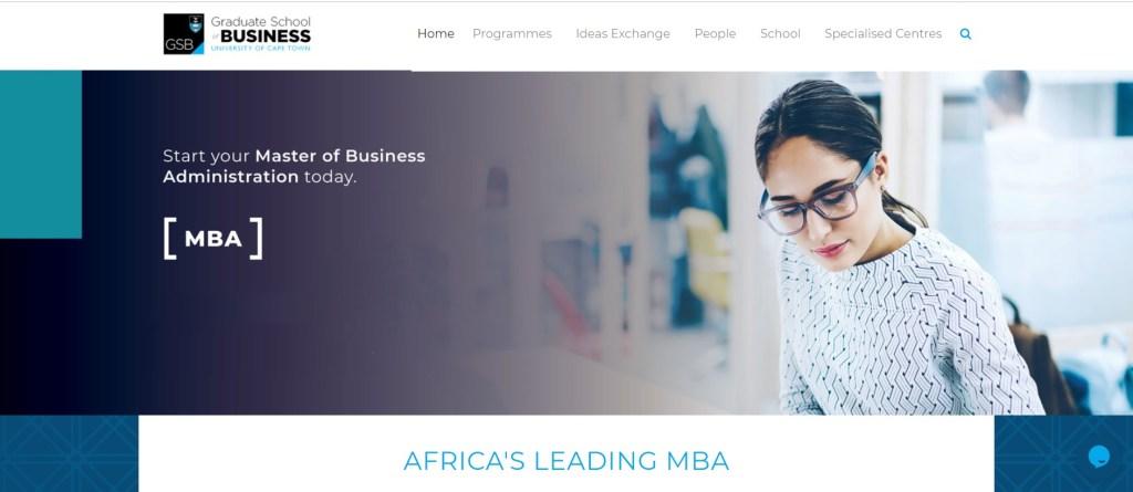 UCT GBS MBA
