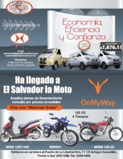 Global automotriz autos y motos de trabajo - 26ago13