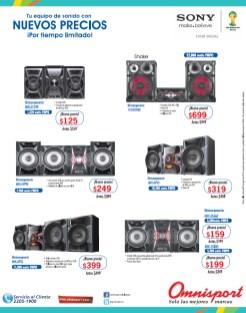 Omnisport ofertas equipos de sonido - 23ago13