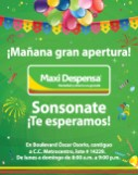 Supermercado Maxi Despensa SONSONATE - 15ago13