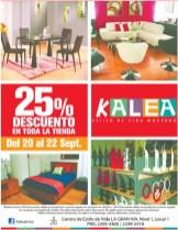 KALEA discounts - 20sep13