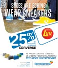 Lee Shoes discounts CONVERSE Banco Agricola - 19sep13