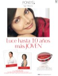 Luce hasta 10 años mas joven PONDS age miracle