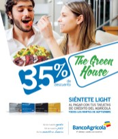 The Green House discount Banco Agricola - 24sep13