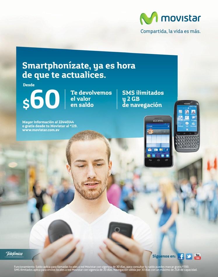 Actualizate YA SMARTphonizate con MOVISTAR - 23oct13