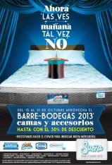 Barre Bodegas 2013 camas y accesorios con descuentos SUEÑA - 24oct13