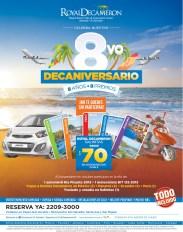 Beach resort el salvador DECAMERON promocion de aniversario - 07oct13