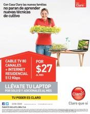 Casa CLARO promocion llevate tu laptop - 29oct13