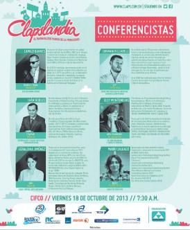 Clapslandia conferencias el salvador 2013