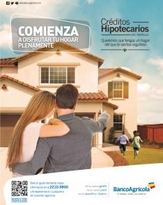 Creditos Hipotecarios disfruta tu hogar BAnco Agrciola - 09oct13