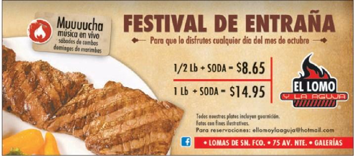 Festival de entraña Lomo y Aguja - 07oct13