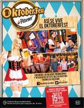 Hasta el ultimo dia de octubre DESCUENTOS Oktoberfest Pilsener - 30oct13
