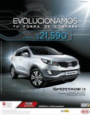 KIA Sportage LX promotion - 02oct13
