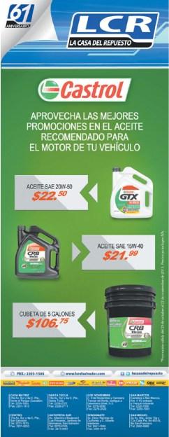 LCR ofertas en aceites para vehiculos - 23oct13