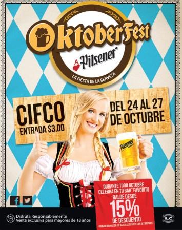 La Fiesta de la cerveza OKTOBER FEST Pilsener - 22oct13