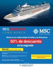 MSC Cruceros al caribe promocion