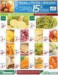 Martes de Frutas y verduras SUPER SELECTOS descuentos - 22oct13