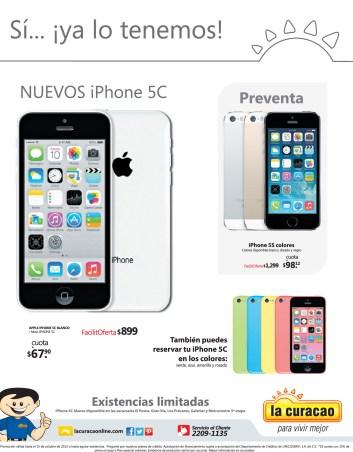 Nuevos iPhone 5C en la Curacao - 02oct13