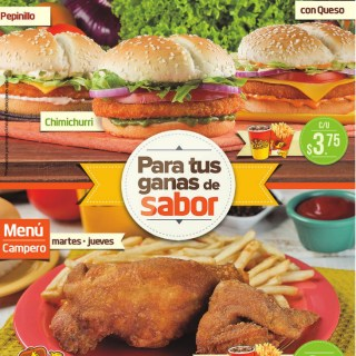 POLLO campero promociones menu - 14oct13