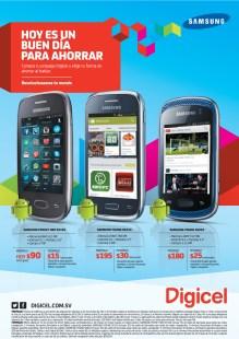 Promociones DIGICEL hoy es un buen dia para ahorrar en smartphones -- 31oct13