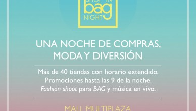 Promociones Multiplaza el salvador SHOP in bag NIGHT 2013