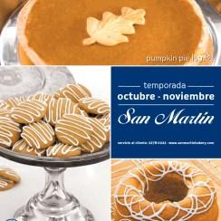 Pumpkin pie Pumpkin cookies en panaderia SAN MARTIN - 31ooct13