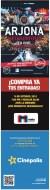 Ricardo Arjona en concierto METAMORFOSIS CINEPOLIS - 04oct13