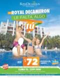 Royal Decameron beach resort promocion todo incluido - 28oct13