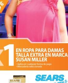 SEARS promociones 2x1 en ropa para damas marca SUSAN MILLER - 09oct13