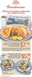 Samborns disfruta estos menus - 02oct13