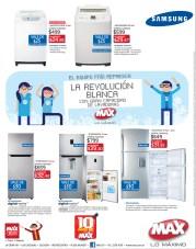 Tiendas MAX ofertas en lavadoras y refrigeradoras - 14oct13
