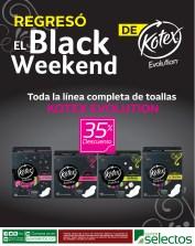 BLACK WEEKEND de KOTEX evolution - 15nov13