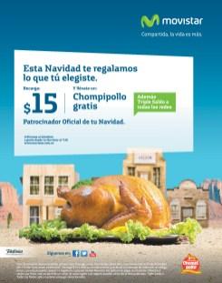CHOMPIPOLLO gratis en navidad con Recargas MOVISTAR - 20nov13