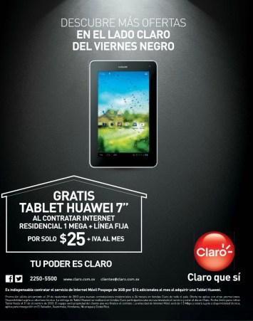 CLARO promociones casa claro BLACK Friday 2013