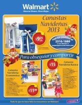 Canastas Navideñas Walmart 2013 - pag1