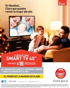 Casa CLARO promocion smart tv - 14nov13