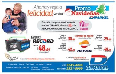 DIPARVEL promociones navideñas - 20nov13