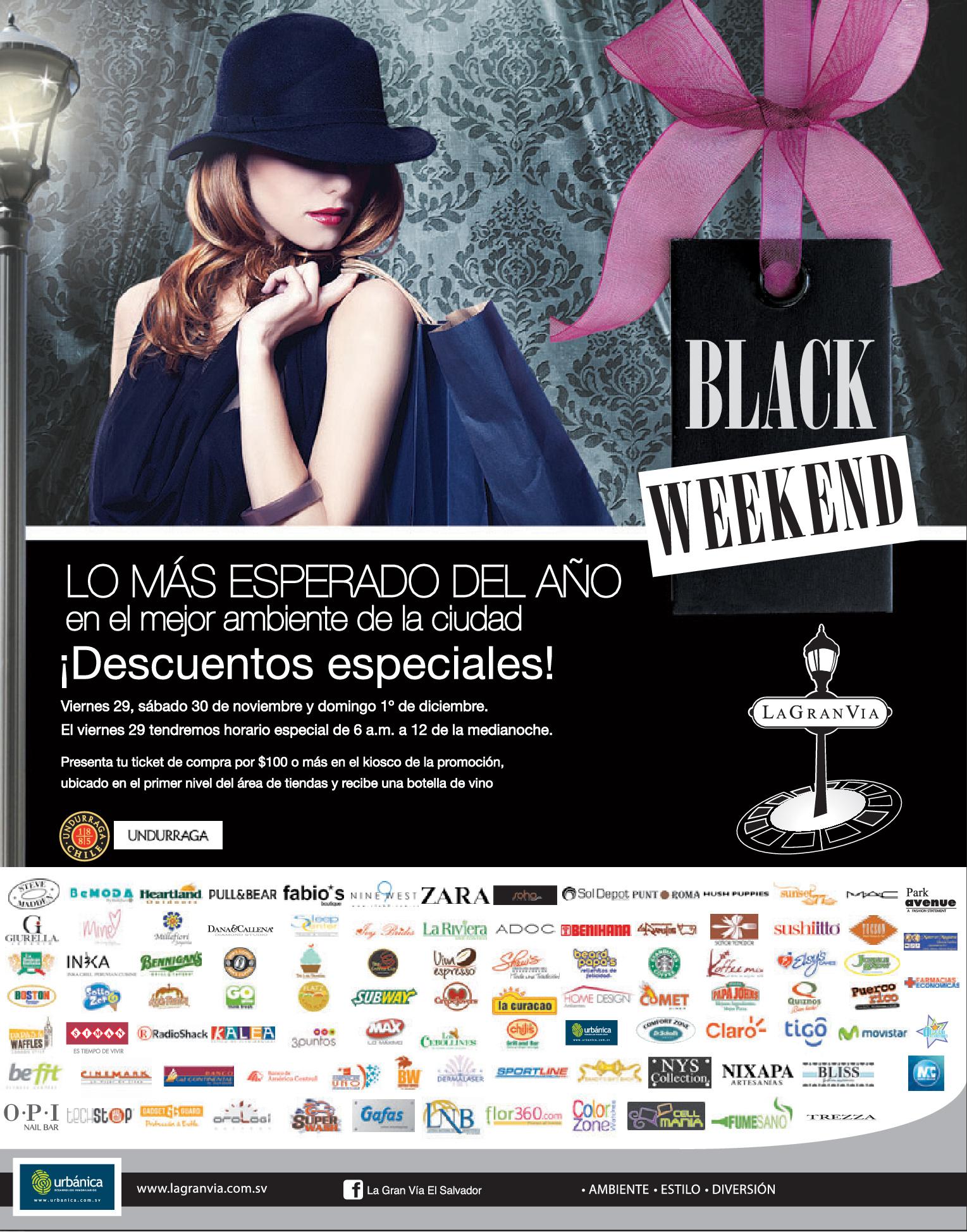Descuentos Black Weekend En La Gran Via El Salvador Ofertas Ahora