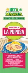 Dia Nacional de la Pupusa El Salvador ISTU y MASECA te invitan