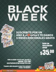 El GRAFICO suscripcion BLACK Weekend - 27nov13