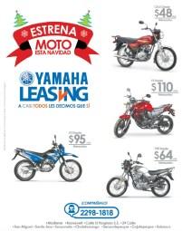 Estrena MOTO en navidad YAMAHA LEASING - 25nov13