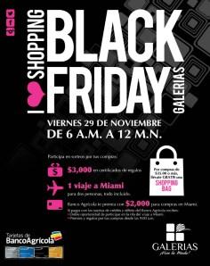 GALERIAS promociones shopping BLACK Friday 2013